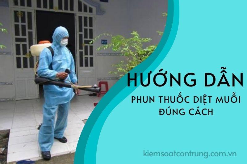 Cách phun thuốc diệt muỗi