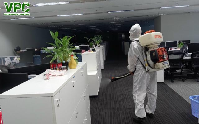 Dịch vụ phun thuốc khử trùng diệt khuẩn