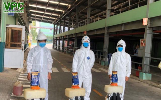 Dịch vụ xử lý vệ sinh diệt khuẩn