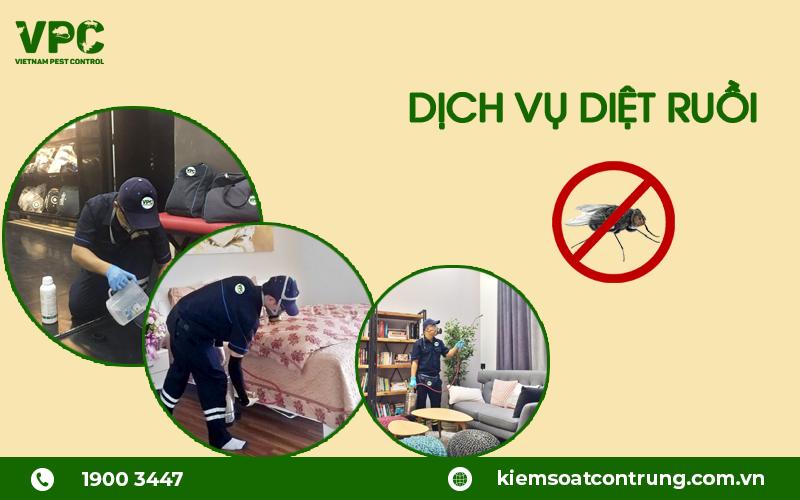 dịch vụ diệt ruồi uy tín
